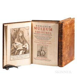 Causeus, Michael Angelus [aka Michel-Ange de la Chausse] (1660-1724) Romanum Museum sive Thesaurus Eruditae Antiquitatis.