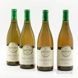 Jean-Marc Brocard Chablis Bougros 2007, 4 bottles