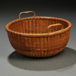 Double-handled Nantucket Basket