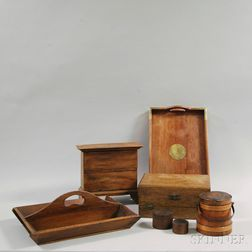Seven Wooden Objects