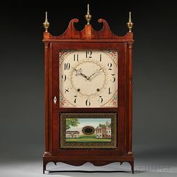 Eli Terry Pillar and Scroll Shelf Clock
