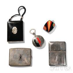 Five Art Deco Cases