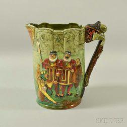 Royal Doulton Tower of London Ceramic Jug