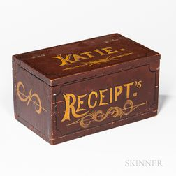 "Painted ""Katie"" Box"