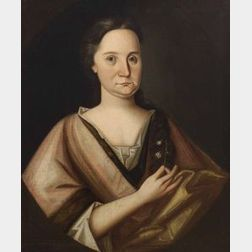 Possibly by the Pollard painter of Boston, Massachusetts,  Portrait of Anne Pattershall.