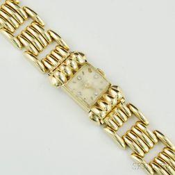 Lady's 14kt Gold Wristwatch, Omega