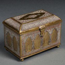 Bezalel Brass and Mixed-metal Box