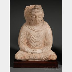 Stucco Buddha