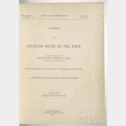 Ives,Joseph Christmas (1829-1868) Report upon the Colorado River of the West.