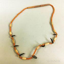 Seminole Trade Bead Necklace