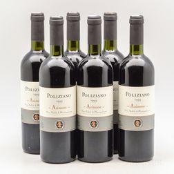 Poliziano Vino Nobile di Montalcino Asinone 1999, 6 bottles