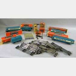 Several Pieces of Lionel Trains with Tracks
