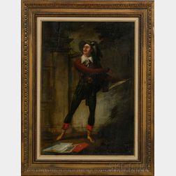 John Ritto Penniman (American, 1782-1841)      The Actor.