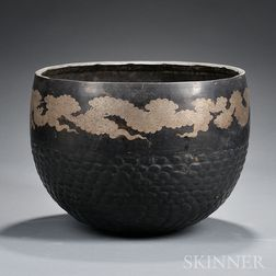 Large Bronze Singing Bowl