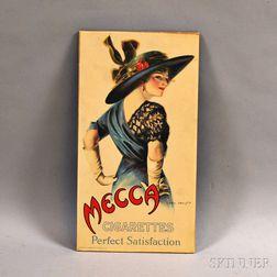 Mecca Cigarettes Perfect Satisfaction Portrait Advertisement