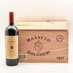 Tenuta dellOrnellaia Masseto 1997, 6 bottles (owc)