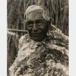 Edward Sheriff Curtis (American, 1868-1952)      An Owens Valley Mono