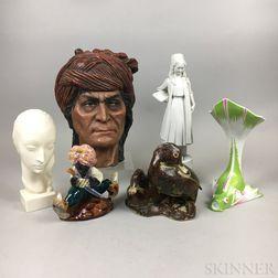Six Ceramic Decorative Items