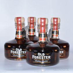 Old Forester Birthday Bourbon, 4 750ml bottles
