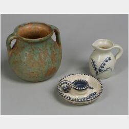 Three Art Pottery Items