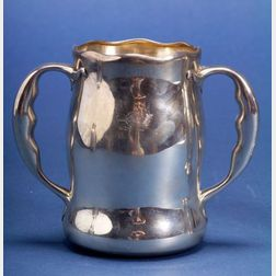 Whiting Manufacturing Co. Sterling Double-handled Cup