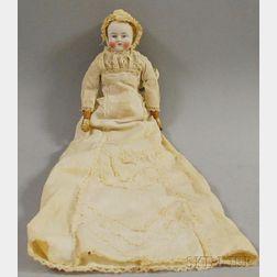 Blonde Pale Bisque Shoulder Head Baby Doll