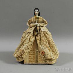 China Shoulder Head Hidden Diorama Doll
