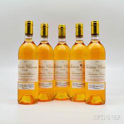 Chateau Climens 1988, 5 bottles