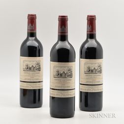 Chateau Cantemerle 1999, 3 bottles