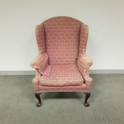 Queen Anne-style Easy Chair