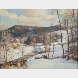 William Jurian Kaula (American, 1871-1953)    Winter in Ashby