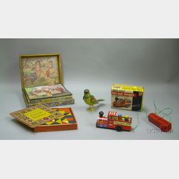 Four Assorted Children's Toys and Puzzles