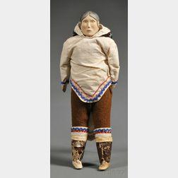 Greenland Eskimo Female Doll