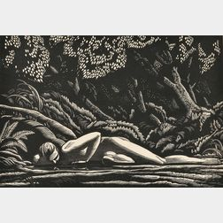 Rockwell Kent (American, 1882-1971)      Forest Pool