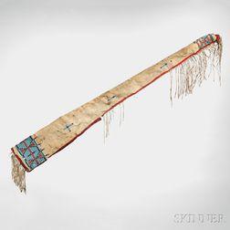 "Cheyenne Rifle Scabbard Attributed to Cheyenne Chief ""Roman Nose,"""