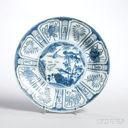 Blue and White Kraak Plate
