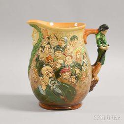 Royal Doulton Ceramic Dickens Jug