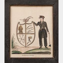 James R. Osborne (Portland, Maine, fl. 1827-1832)      Farmers Arms