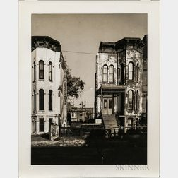 Walker Evans (American, 1903-1975)  South Prairie Avenue, Chicago, Made for the Fortune Magazine Article Chicago: A Camera Exploration