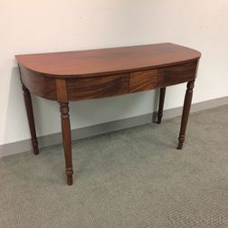 Federal Mahogany Console Table