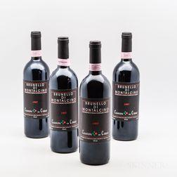 Casanuova delle Cerbaie Brunello di Montalcino 1997, 4 bottles