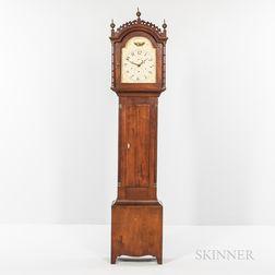 Cherry Tall Case Clock