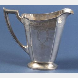 International Sterling Classical Revival Water Pitcher