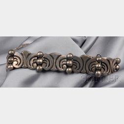 Mexican Sterling Silver Bracelet, Lopez
