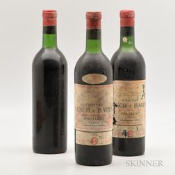 Chateau Lynch Bages, 3 bottles