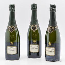 Bollinger Grande Annee 1990, 3 bottles