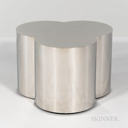 Curtis Jeré for Artisan House Chromed Trefoil Table Base