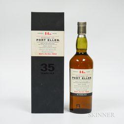 Port Ellen 35 Years Old 1978, 1 750ml bottle (oc)