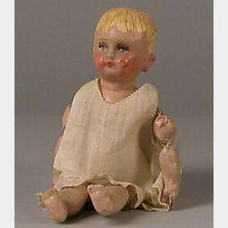 Tiny Martha Chase Cloth Doll