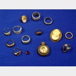 Group of Rings